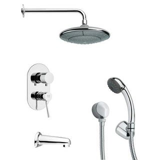 Remer by Nameeks TSH4033 Tyga Tub and Shower Package with Single Function Rain S