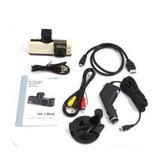 Mini 2000 DV 1080P White Waterproof Sports HD LCD Video Camera Camcorder for Car