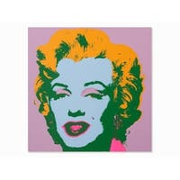 Marilyn Monroe #28 by Andy Warhol Portrait Art Print