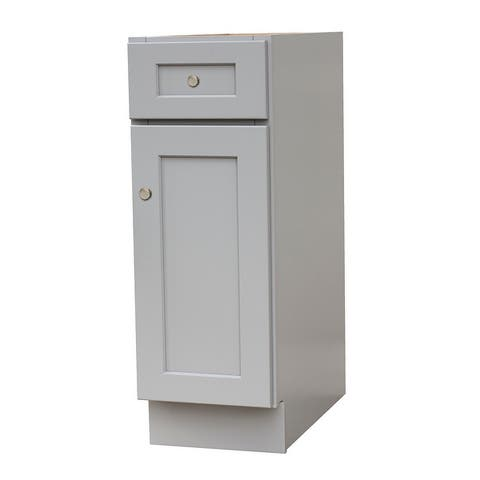 Shaker Gray Kitchen Base Cabinets
