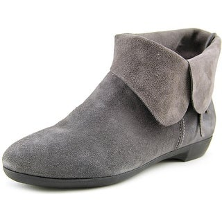 Martino Ami  N/S Round Toe Suede  Ankle Boot