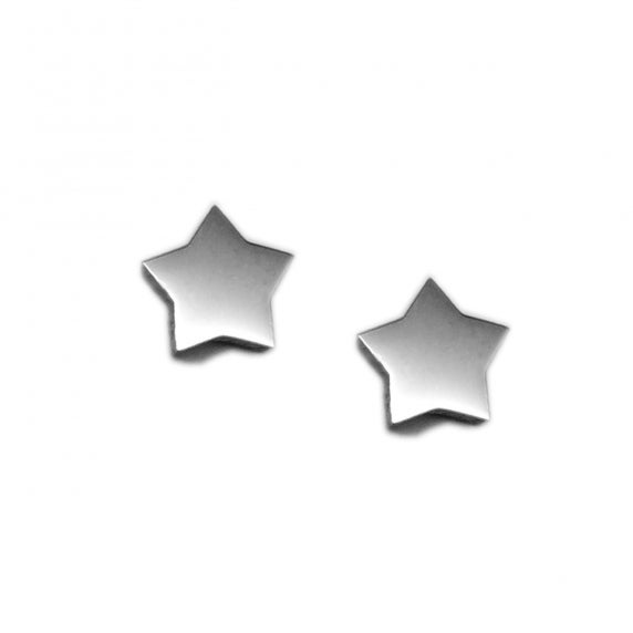 Loralyn Designs Small Star Stud Earrings