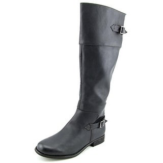 Mia Marianne Women Round Toe Synthetic Black Knee High Boot