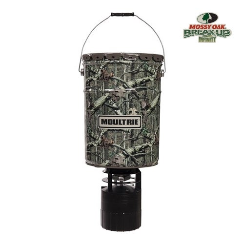 Moultrie MFG-13058 Pro Hunter Hanging Feeder with Programmable Digital Timer & 6.5 Gallon Capacity