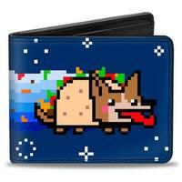 Fiesta Nyan Dog Bi Fold Wallet - One Size Fits most