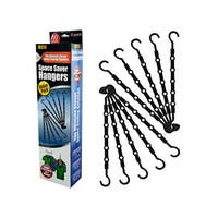 Space Saver Hangers - Pack of 4