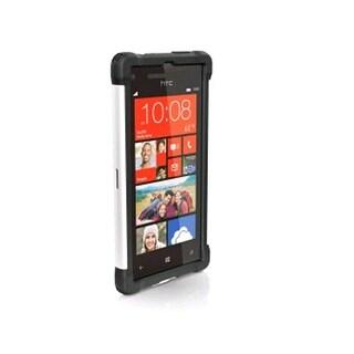 Ballistic Shell Gel Case for HTC Accord 8X 6990 - Black/White (SG1008-M385)