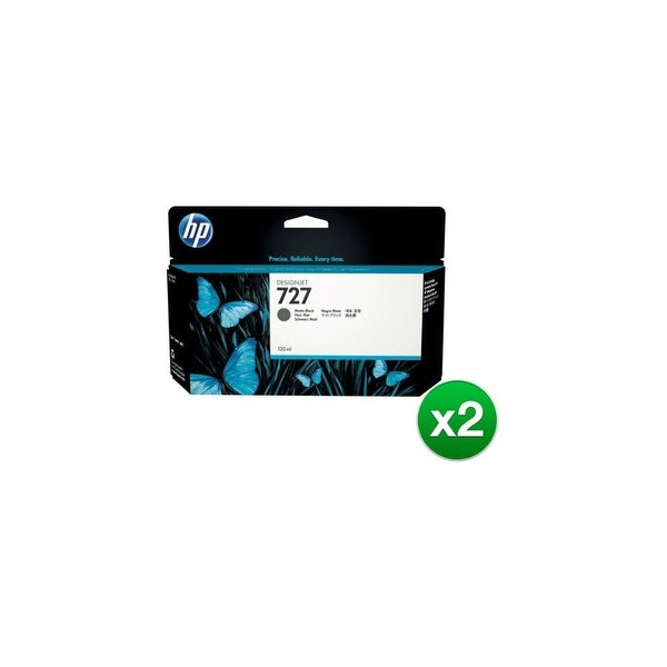HP 727 300-ml Photo Black DesignJet Ink Cartridge (F9J79A)(2-Pack)