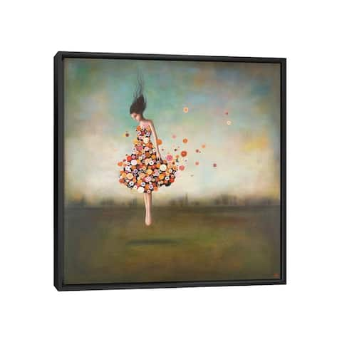 """iCanvas """"Boundlessness in Bloom"""" by Duy Huynh Framed Canvas Print"""