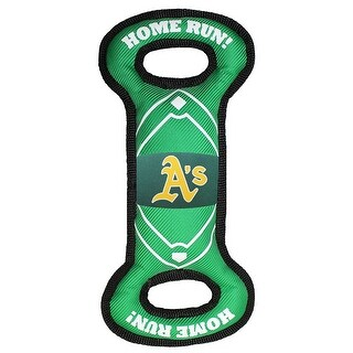 Pets First MLB Oakland Athletics Nylon Field Toy