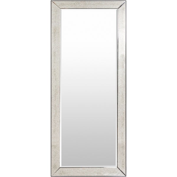 """Gael Traditional Beveled 72-inch Wall Mirror - 30"""" x 72"""". Opens flyout."""