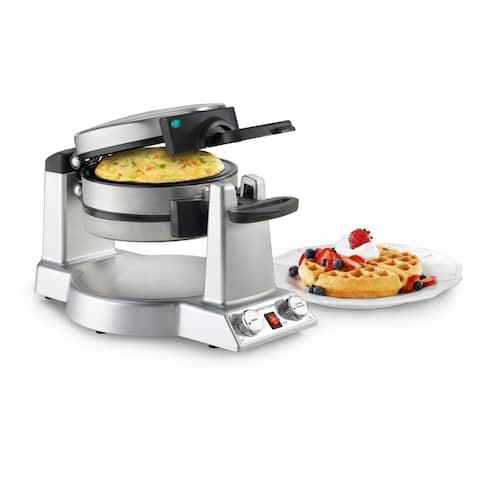 Cuisinart WAF-B50 Breakfast Express Waffle/Omelet Maker, Stainless Steel