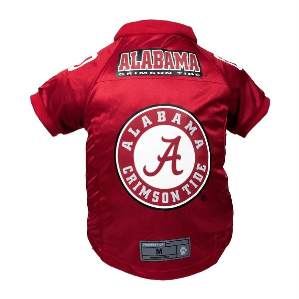 best service 752ad 255ca Alabama Crimson Tide Pet Premium Jersey - Large