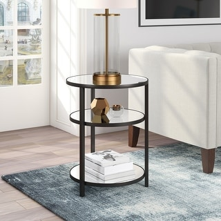 Link to Helena Side Table in Blackened Bronze Similar Items in Living Room Furniture