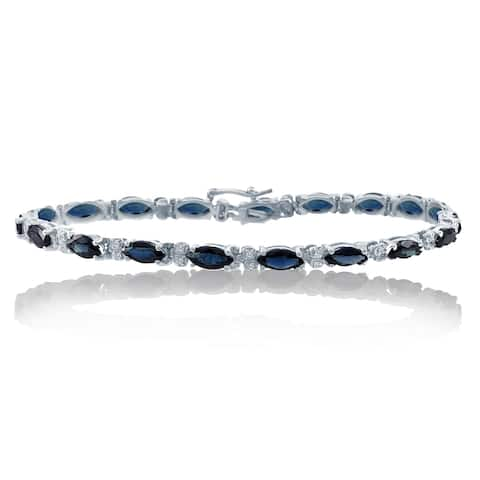 Encore by Le Vian Sapphire & Diamond 14K White Gold Bracelet