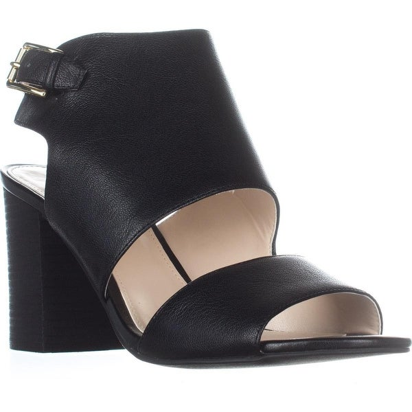 Cole Haan Kathlyn II Sandal Booties, Black Leather