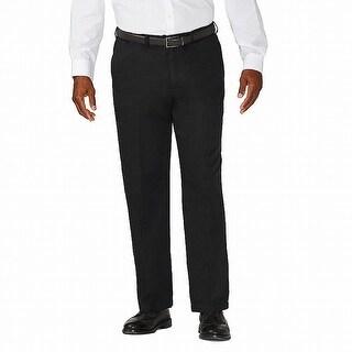 Link to Haggar Men's Pants Black Size 52X30 Big & Tall Classic Fit Khakis Similar Items in Big & Tall