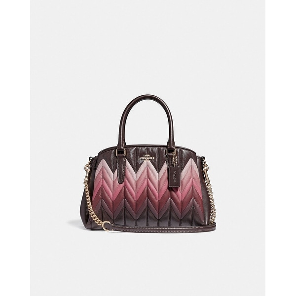 134d4230ca92 Shop Coach Mini Sage Carryall With Ombre Quilting