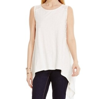 Two By Vince Camuto NEW White Ivory Women's Size Large L Tank Top