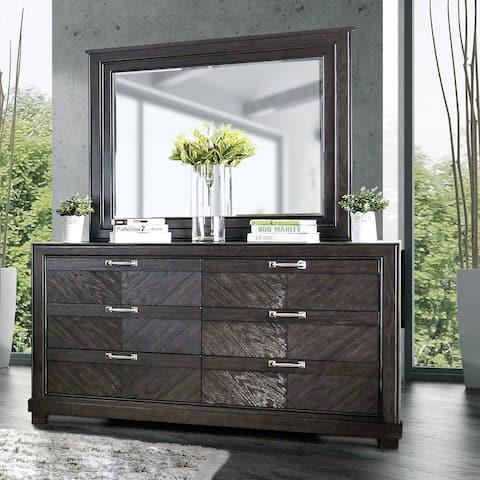 6 Drawers Dresser, Espresso