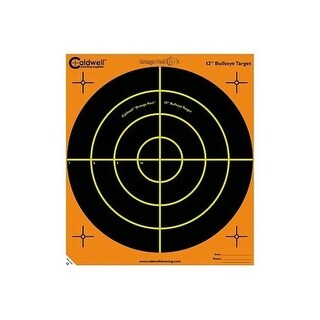 Caldwell 120556 caldwell 120556 orange peel 12 bulls-eye: 5 sheets