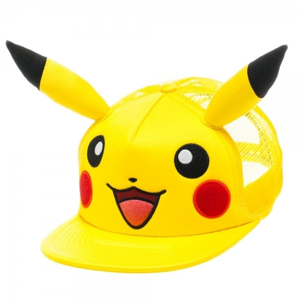 Pokemon Pikachu Hat With Big Face And Ears
