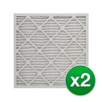 Replacement Pleated Air Filter for 20x25x4 Merv 11 (2-Pack)