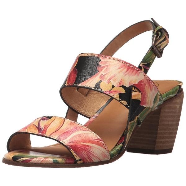 Patricia Nash Womens Romana Leather Open Toe Casual Slingback Sandals
