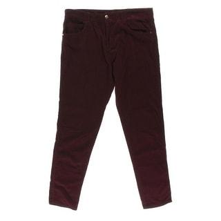 Zara Trafaluc Womens Cotton Corduroy Corduroy Pants
