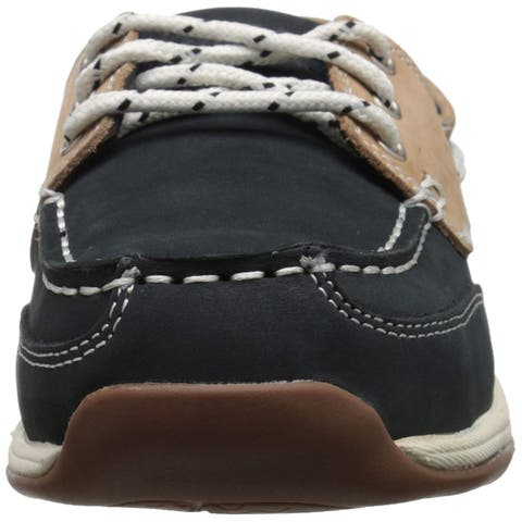 Rockport Womens Sailing Club Leather Closed Toe Boat Shoes - 7.5