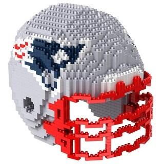 New England Patriots 3D NFL BRXLZ Bricks Puzzle Team Helmet