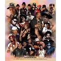 ''Legends of Hip Hop'' by Wishum Gregory African American Art Print (24 x 20 in.) - Thumbnail 0