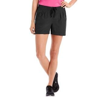 Hanes Sport Women's Performance Woven Shorts - Color - Black - Size - XL
