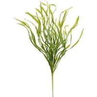 """Pack of 6 Two-Tone Green Country Field Grass Artificial Decorative Spray 31"""""""