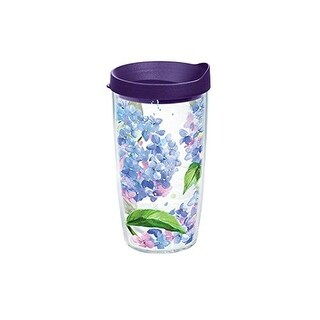 Tervis Tumbler Hydrangea Flowers Wrap with Travel Lid (16 oz)