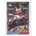 Elmore Spencer Los Angeles Clippers 1992 Topps Draft Pick Autographed Card Rookie Card This item