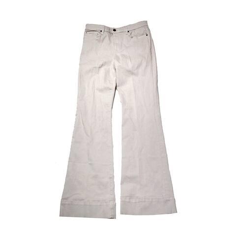Joe'S Winter White Charlie Flare Jeans