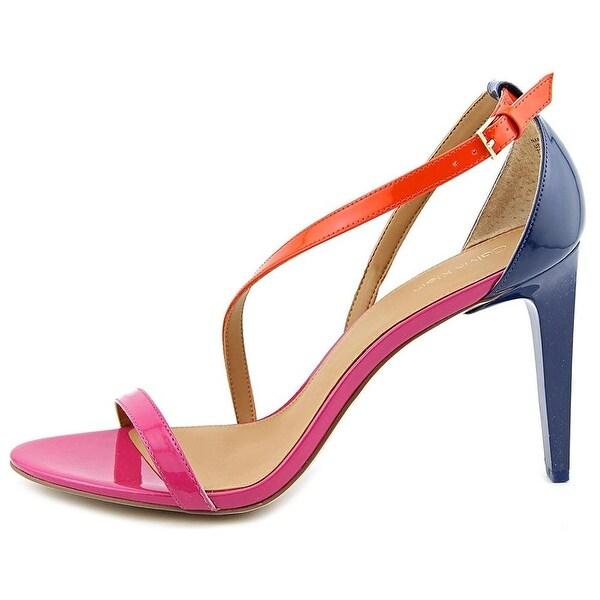 Calvin Klein Womens Narella Open Toe Special Occasion Strappy Sandals