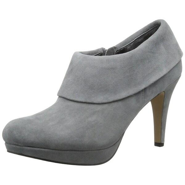 Adrienne Vittadini Women's Polenta Heeled Platform Ankle Booties - 6