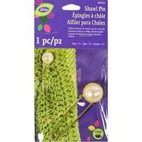 Loran Metal Shawl Pin