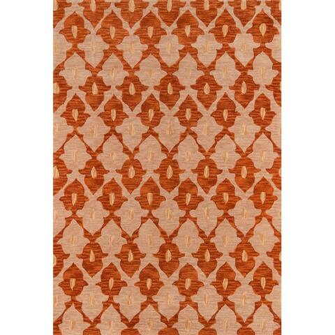 Momeni Rio Hand Tufted Polyester Contemporary Geometric Area Rug