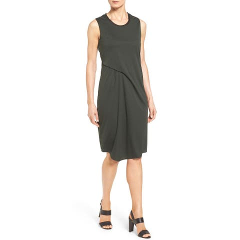 Elie Tahari Womens Isolde Dress, Camoflauge, X Small