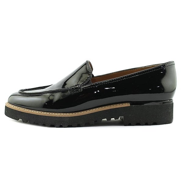 Franco Sarto Womens Cypress Fabric Almond Toe Loafers