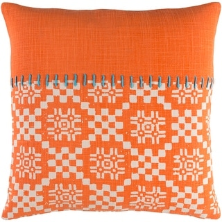 Link to Decorative Turner Orange 20-inch Throw Pillow Cover Similar Items in Decorative Accessories