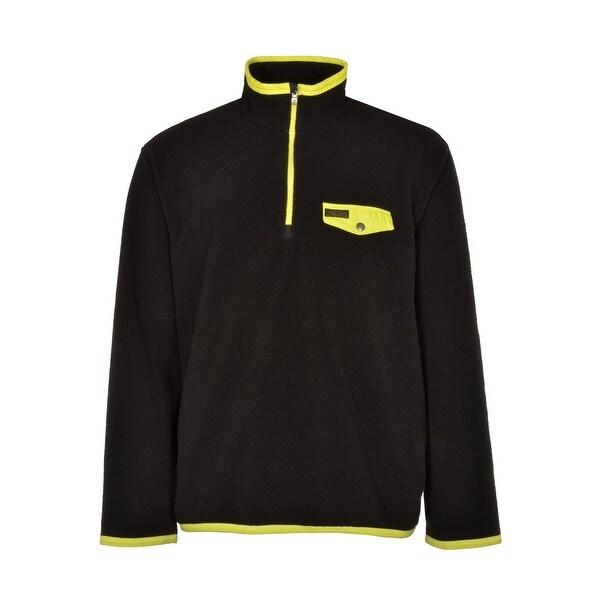 Polo Ralph Lauren Big and Tall Fleece Sweatshirt Black and Yellow 3XLT Tall