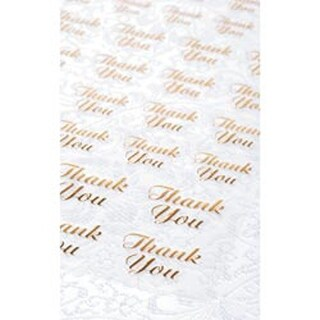 Gold Thank You - Victoria Lynn Stickers 47/Pkg