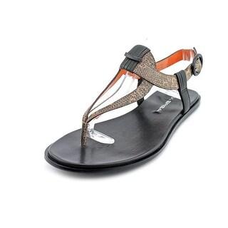 Via Spiga Capris Women Open-Toe Leather Slingback Sandal
