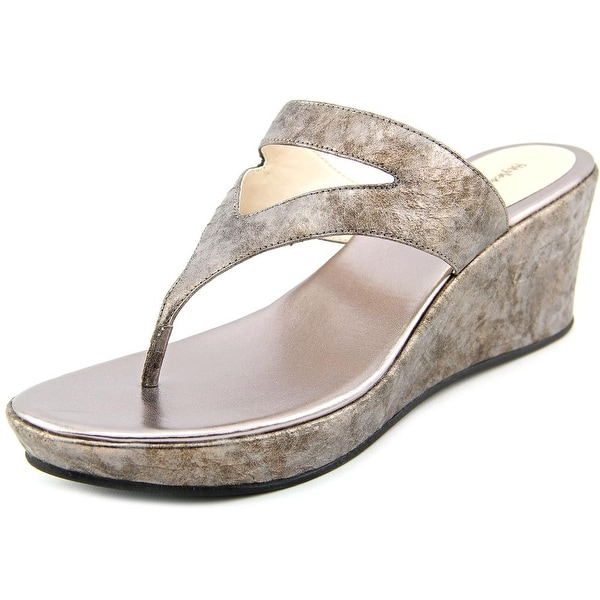Style & Co Torrah Open Toe Synthetic Wedge Sandal