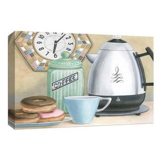 """PTM Images 9-153795  PTM Canvas Collection 8"""" x 10"""" - """"Retro Coffee I"""" Giclee Coffee, Tea & Espresso Art Print on Canvas"""