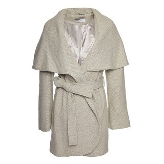 T. Tahari Marla Tweed Coat